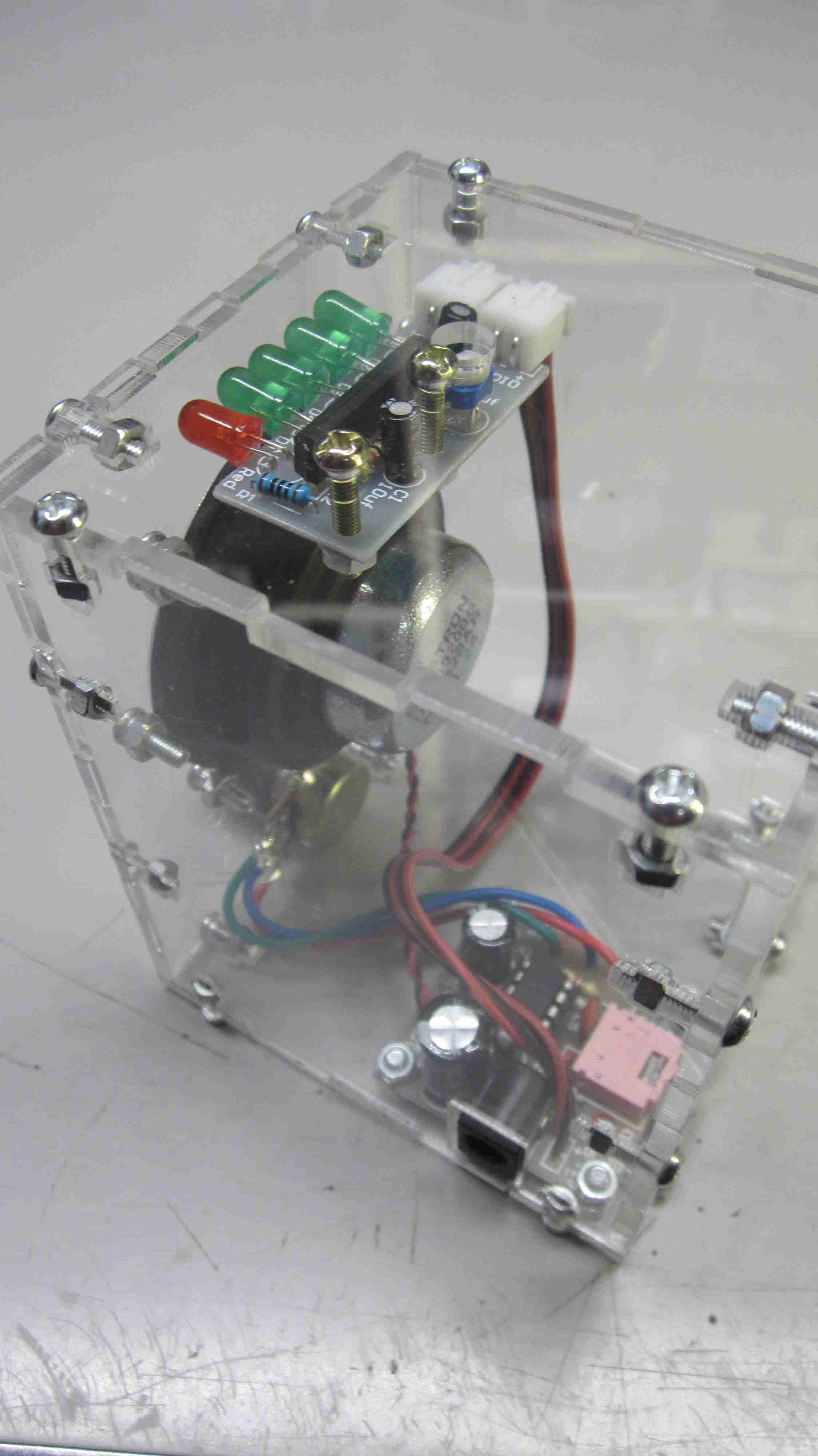 Audio Amplifier Kit 3rd Planet Solar Kc9on Using An Lm386 Ka2284 Level Indicator And Speaker All Wrapped In A Nice Clear Enclosure Includes Builders Notes For Both Boards